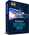 Bitdefender Internet Security 2017 Home (3 ПК, 1 год)