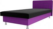 Лига диванов Мальта 200x80 101746 (черный/фиолетовый)