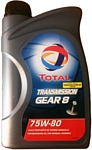 Total Transmission GEAR 8 75W-80 2л