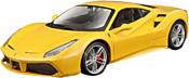 Bburago Ferrari 488 GTB 18-26013 (желтый)