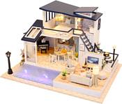 Hobby Day DIY Mini House Вилла с бассейном (13849)