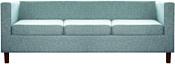 Brioli Билли Д трехместный (рогожка, J14 голубой/темные ножки)