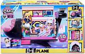 L.O.L. Surprise! O.M.G. Remix 4-in-1 Plane Playset Transforms 571339