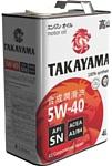 Takayama 5W-40 API SN/CF 4л