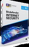 Bitdefender Internet Security 2019 Home (3 ПК, 2 года, полная версия)
