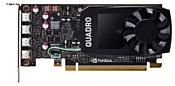 PNY Quadro P1000 PCI-E 3.0 4096Mb 128 bit HDCP