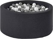 Misioo 90x40 200 шаров (черный)