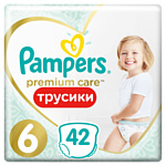 Pampers Premium Care 6 Extra Large 15+ кг, (42 шт)