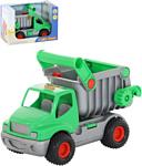 Полесье КонсТрак автомобиль-самосвал (зелёный) 44822