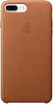 Apple Leather Case для iPhone 7 Plus Saddle Brown (MMYF2)