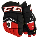 CCM Tacks 6052 JR (черный/красный/белый, 11 размер)