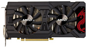 PowerColor Radeon RX 570 1105Mhz PCI-E 3.0 4096Mb 8000Mhz 256 bit DVI HDCP Red Dragon