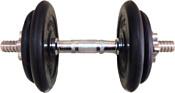 Pro energy Разборная с обрезиненными дисками (вращ. ручка) - 7,5 кг