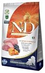 Farmina (12 кг) N&D Grain-Free Canine Pumpkin Lamb & Blueberry Puppy Medium & Maxi