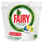 "Fairy Original Lemon ""All in 1"" (24 tabs"