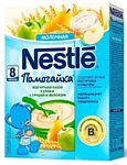 Nestle Помогайка 3 злака йогуртная (груша, яблоко), 200 г