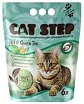 Cat Step Tofu Green Tea растительный комкующийся 6л