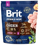 Brit (1 кг) Premium by Nature Junior S