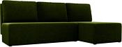Mio Tesoro Берген правый (микровельвет, зеленый)