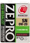 Idemitsu Zepro Eco Medalist 0W-20 4л