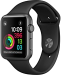 Apple Watch Series 2 38mm Space Gray with Black Sport Band (MP0D2)