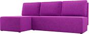 Mio Tesoro Берген левый (микровельвет, фиолетовый)