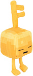 Minecraft Dungeons Mini Crafter Gold Sleeping Key Golem