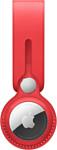 Apple кожаный с подвеской для AirTag (красный) MK0V3
