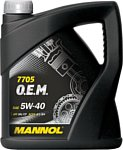 Mannol O.E.M. for Renault Nissan 5W-40 4л