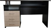 Компас мебель КС-003-22 (венге темный/дуб молочный)