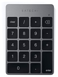 Satechi Aluminum Slim Rechargeable Keypad Space Gray Bluetooth