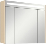 Акватон Блент 100 Зеркальный шкаф кремовый (1.A166.5.02B.LA7.0)