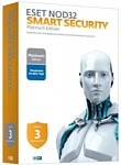 NOD32 Smart Security (3 ПК, 3 года) продление лицензии