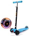 21st Scooter Maxi со светодиодами (голубой)
