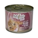 Dr. Alder (0.195 кг) 12 шт. МОЯ ЛЕДИ ПРЕМИУМ ЭДАЛТ утка рубленое мясо Для домашних кошек консервы