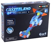Crystaland Lighted Brix SHG010 Гонка 6 в 1