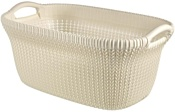 Keter Knit Laundry Basket OASWHT STD 40L (белый)