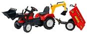 Falk Трактор-экскаватор с прицепом (2070Z/2081Z/2082Z/2085Z/2090Z)