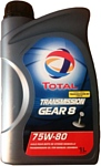 Total Transmission GEAR 8 75W-80 1л