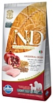 Farmina N&D Low-Grain Canine Chicken & Pomegranate Light Medium & Maxi (12 кг)