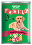 CLAN (0.415 кг) 1 шт. Family Паштет из ягнёнка для собак