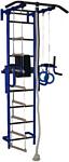 Крепыш пристенный с брусьями-1 с ПВХ покрытием (синий)