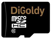 Digoldy microSDHC class 10 16GB + SD adapter