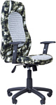 Русские кресла РК-193 SY (камуфляж/серый)