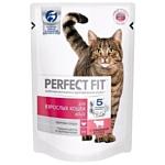 Perfect Fit (0.085 кг) 4 шт. Adult Пауч с говядиной