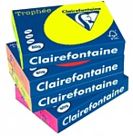 Clairefontaine Trophee пастель A4 80 г/кв.м 500 л (желтый нарцисс)