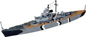 Revell 05802 Линейный корабль Bismarck