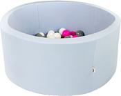 Misioo 90x30 200 шаров (голубой)