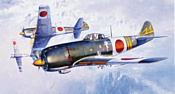 Hasegawa Истребитель Nakajima Ki84 Type 4 Fighter
