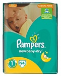 Pampers New Baby-Dry 1 Newborn (94 шт.)